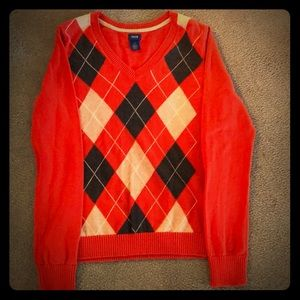 Vintage IZOD Argyle sweater